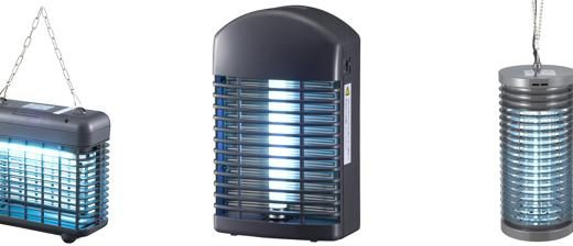 電撃殺虫器は意外と安価。オーム電機製 電気殺虫器がおすすめです
