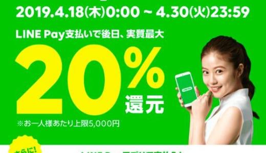 【合計11,000円還元も!】Amazonギフト券チャージタイプはLINE Pay最大20%還元の対象です!!